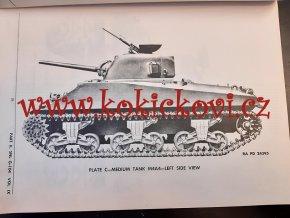 SHERMAN - 1943 WW2 US ARMY TANK - ORIGINAL SERVICE PARTS CATALOG FOR TANK MEDIUM M4A4  SNL G-104