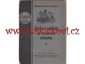 CHOV VÝCVIK A VEDENÍ OHAŘE - FR. A LUDVÍK ŠTĚTKOVÉ - 40 STRAN