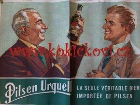 Pilsner Urquell - reklamní plakát Bohumil Konečný - Bimba - originál A1