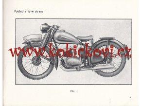 ČZ 125 t -1949 - technický popis a návod k obsluze