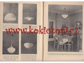 Světelná technika 1955 světlo lustr důlní lampa funkcionalismus