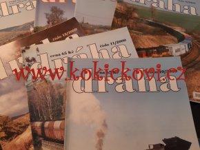 ČASOPIS DRÁHA KONVOLUT ČÍSEL Z ROČNÍKŮ 2000+2009 - NEKOMPLETNÍ - ČÍSLA VIZ FOTOGRAFIE