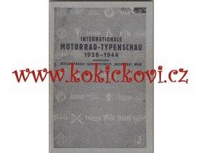 Internationale Motorradtypenschau 1928-1944 - oficální Reprint Z R. 1978 - NSU - JAWA - ČZ - ARIEL - HARLEY - FN - PUCH