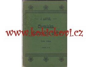 CHEMICKÁ TECHNOLOGIE DŘEVA 1907 - povrchové úpravy moření dřeva