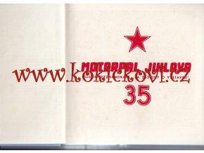 35 LET MOTORPAL JIHLAVA - 1981 - NÁKLAD 3000 KS - CCA 60 STRAN