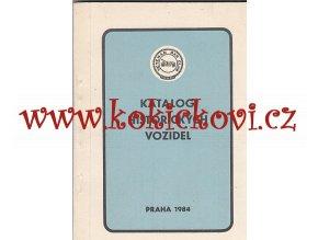 KATALOG HISTORICKÝCH VOZIDEL PRAHA 1984 - A5 - 1132 STRAN - PĚKNÝ STAV