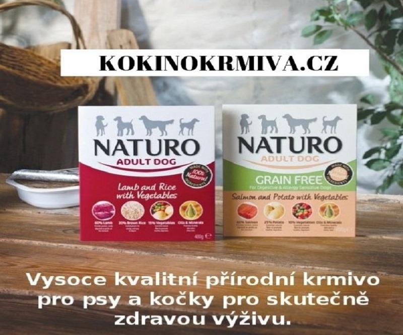 100% přírodní krmivo pro psy