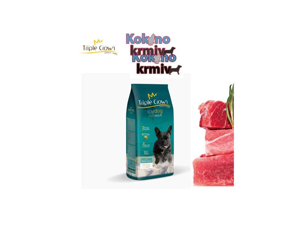 Triple crown Toy dog mini adult 2kg
