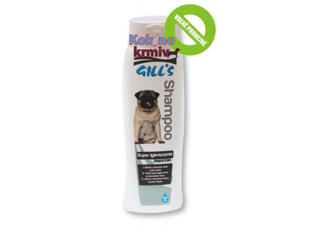 šampon pro kočky a psy