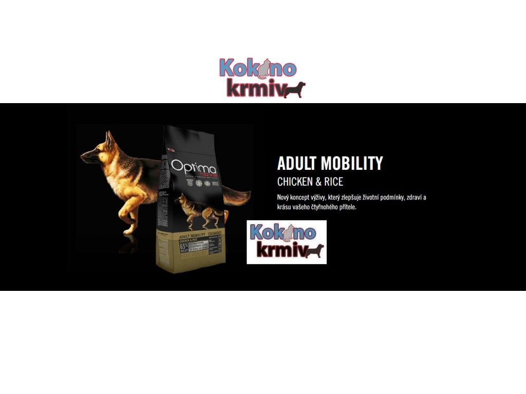 granule pro psy s pohybovými potížemi