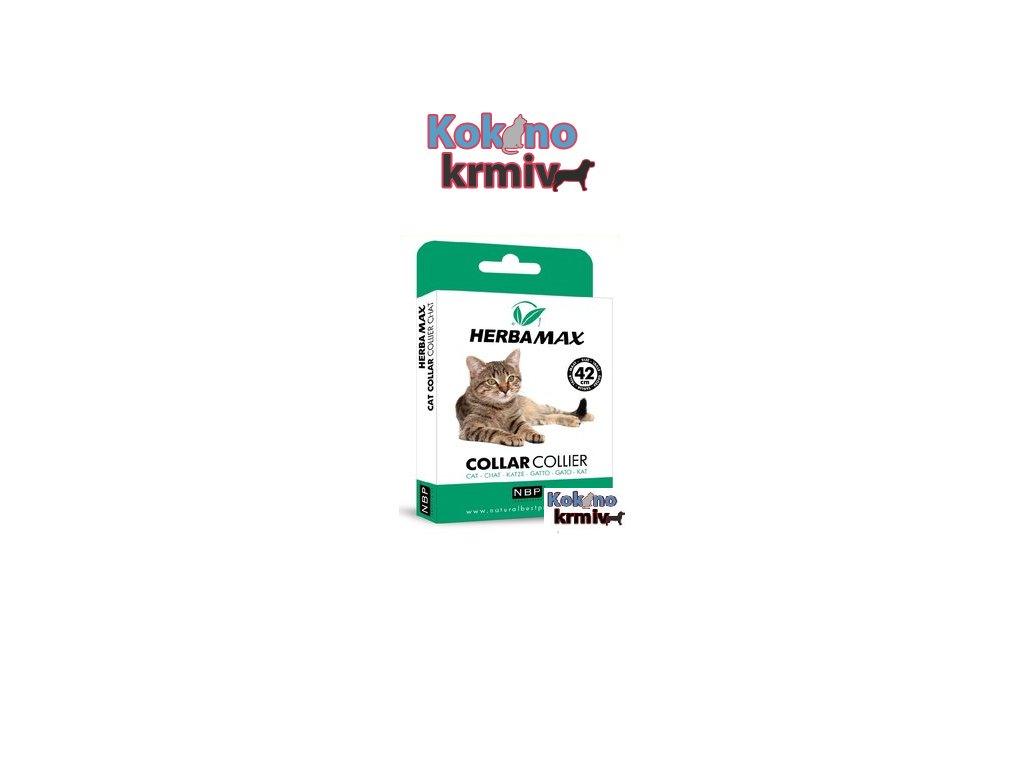 Antiparazitní obojek pro kočky Herba Max 42 cm