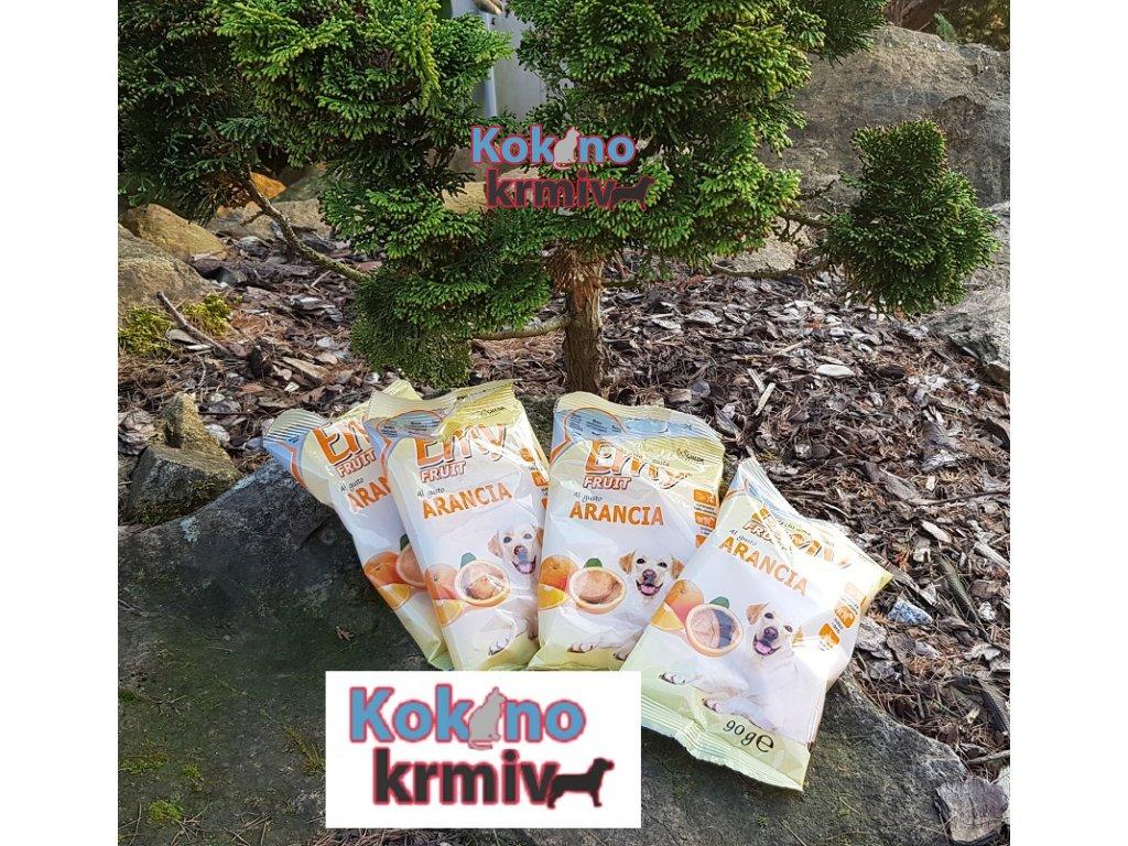 ovocné sušenky pro psy