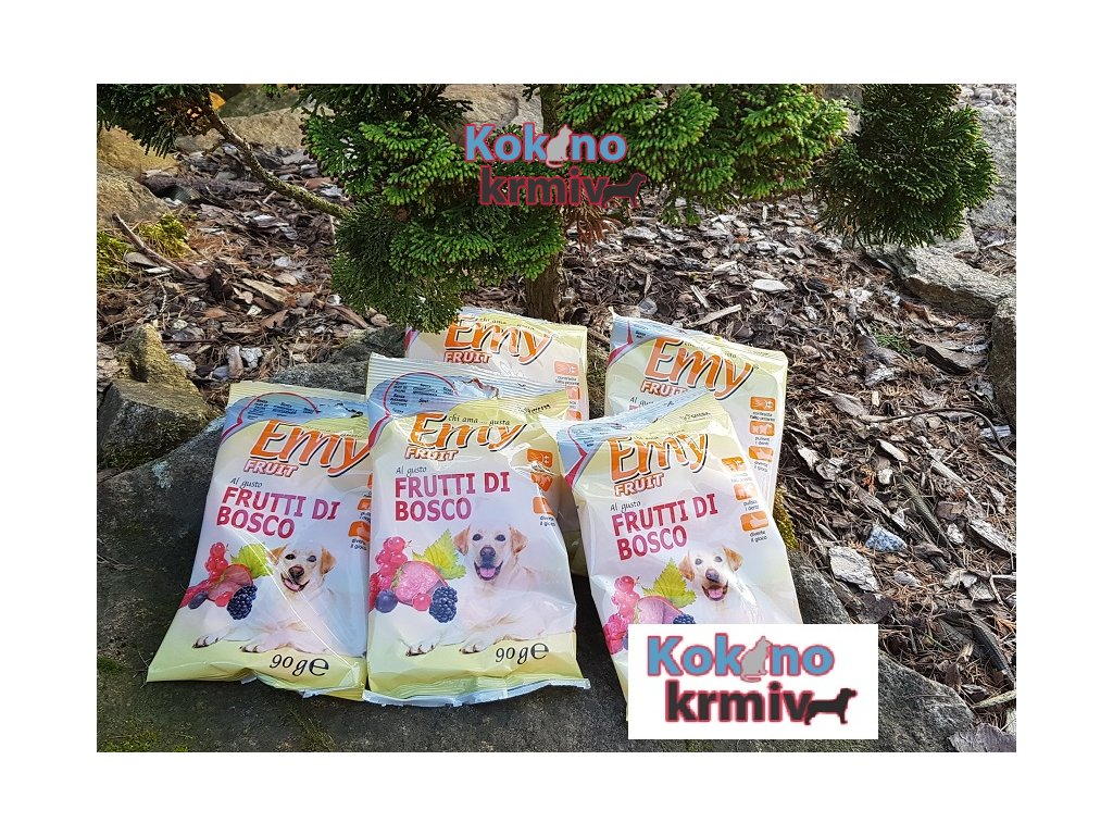 ovocné sušenky pro psa