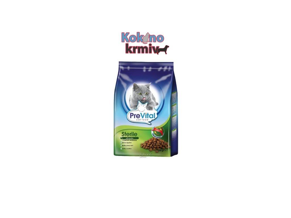 PreVital granule kočka steril. 1.6 kg