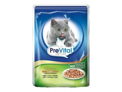 PreVital kapsičky pro kočky STERILNÍ s játry 100g