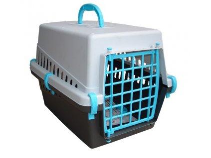 Plastová přepravka pro kočky nebo malé psy 50 x 33 x 32 (výška) cm