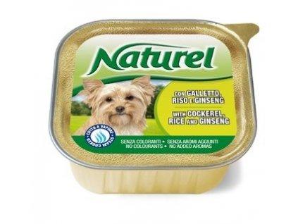 Naturel dog vanička Cockerel,Rice&Ginseng 150g-kohout, rýže a ženšen