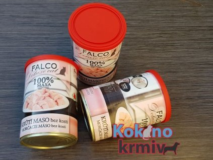 Sokol falco konzervy