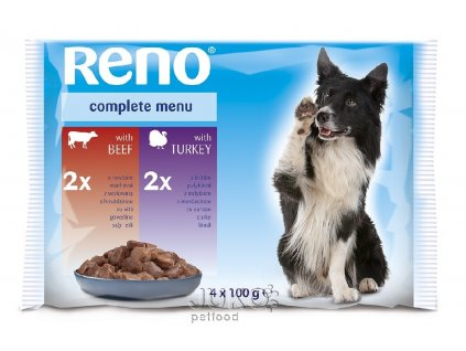 RENO kapsa DOG 4-pack 100g