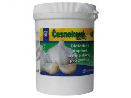 česnekové tablety pro koně