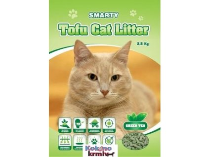 Smarty Tofu Cat Litter-Green Tea-podestýlka 6lt.