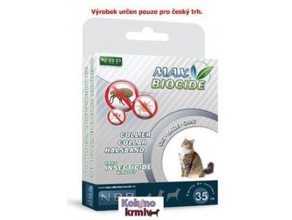 Antiparazitní obojek pro kočky