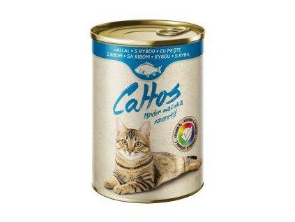 konzerva pro kočky s rybou