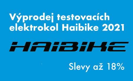 Slevy na modely Haibike 2021
