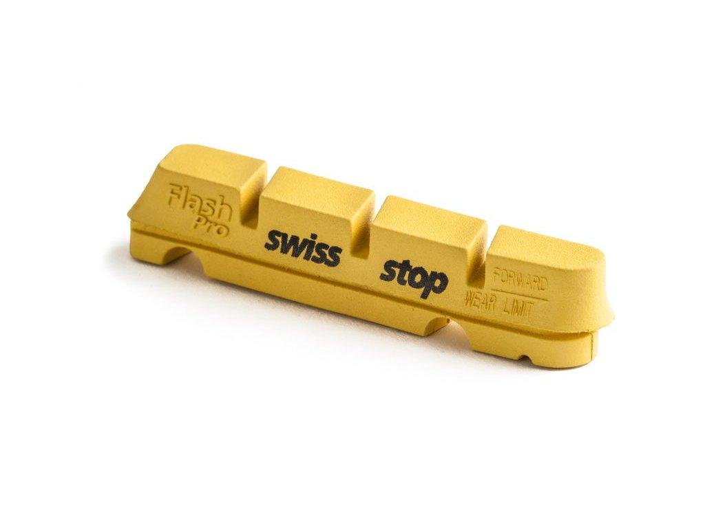 Brzdové špalíky Swissstop FlashPro Yellow King