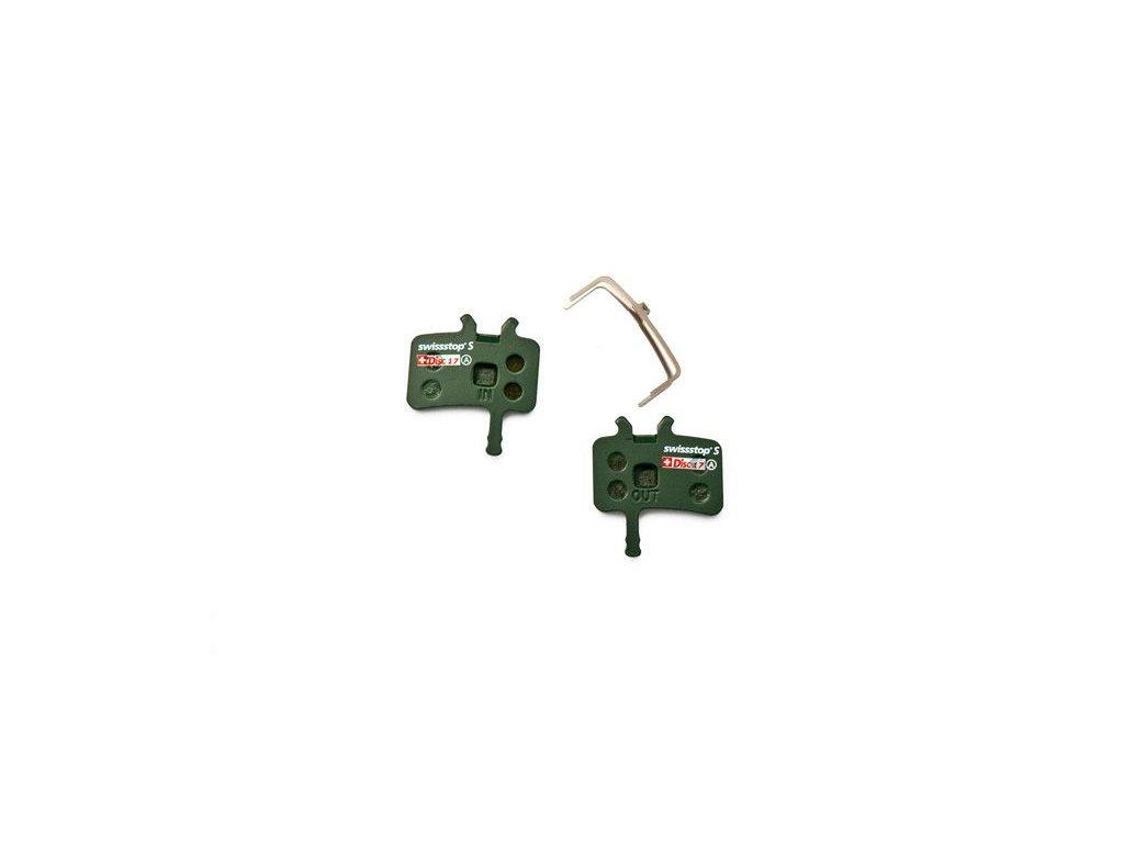 Brzdové destičky Swissstop sintrované pro Avid Juicy 3/5/7/Ultimate, BB7 Mechanical