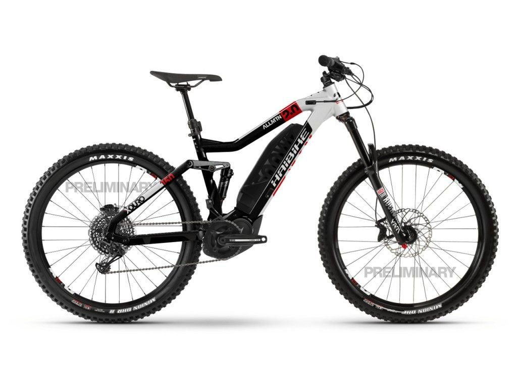 Horské Elektrokolo Haibike XDURO AllMtn 2.0 -2020 - Yamaha
