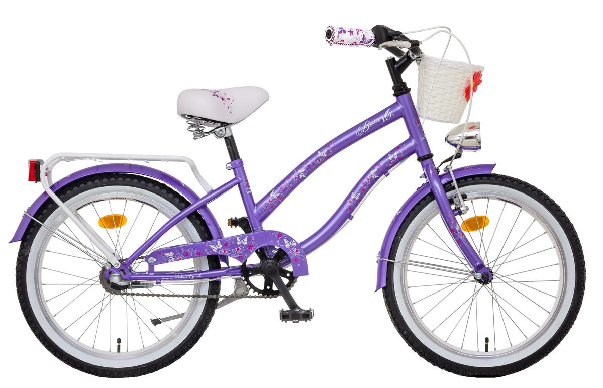 LIBERTY BUTTERFLY dětské jízdní kolo, 3 rychlostní