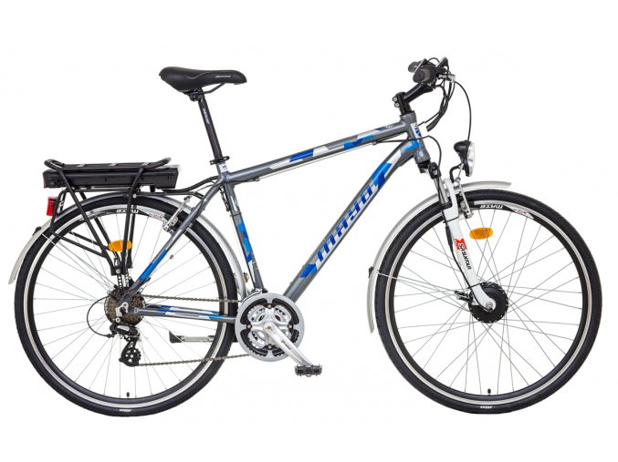 e bike XR basic šeda