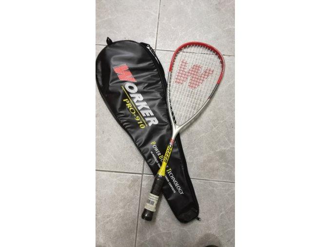 Squash raketa grafit titan