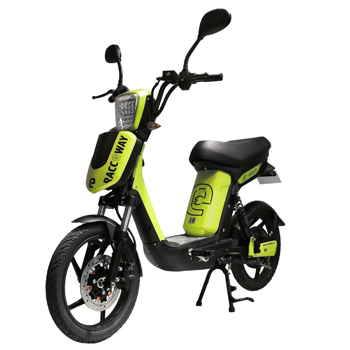 Elektrický motocykl RACCEWAY E-BABETA Barva: Zelená