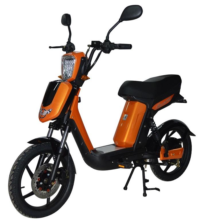 Elektrický motocykl RACCEWAY E-BABETA Barva: oranžová