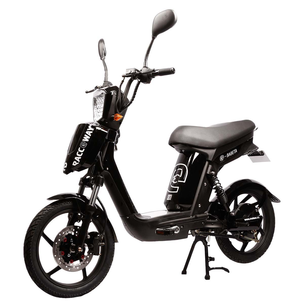 Elektrický motocykl RACCEWAY E-BABETA Barva: černá