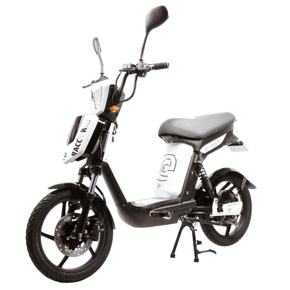 Elektrický motocykl RACCEWAY E-BABETA Barva: Bílá