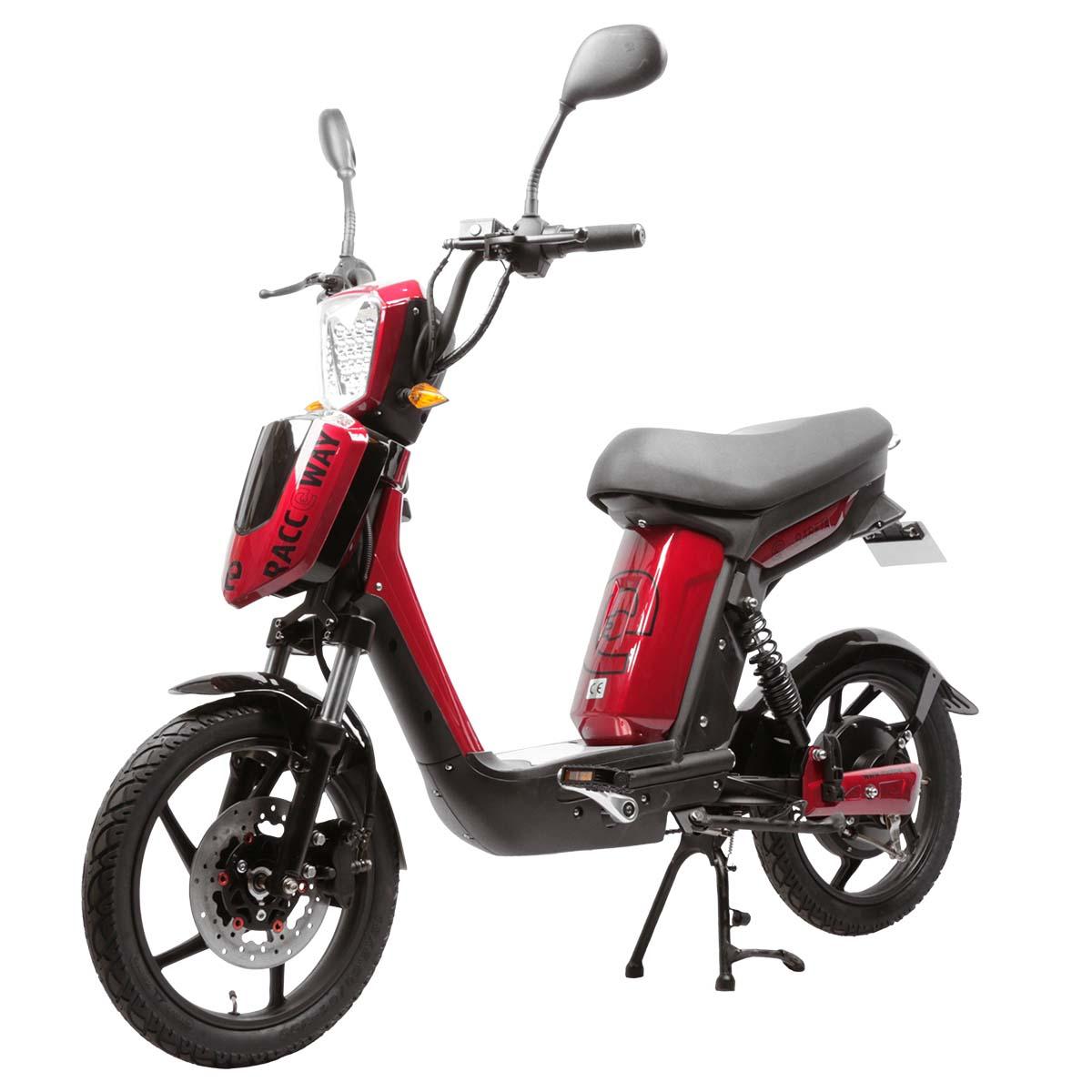 Elektrický motocykl RACCEWAY E-BABETA Barva: červená