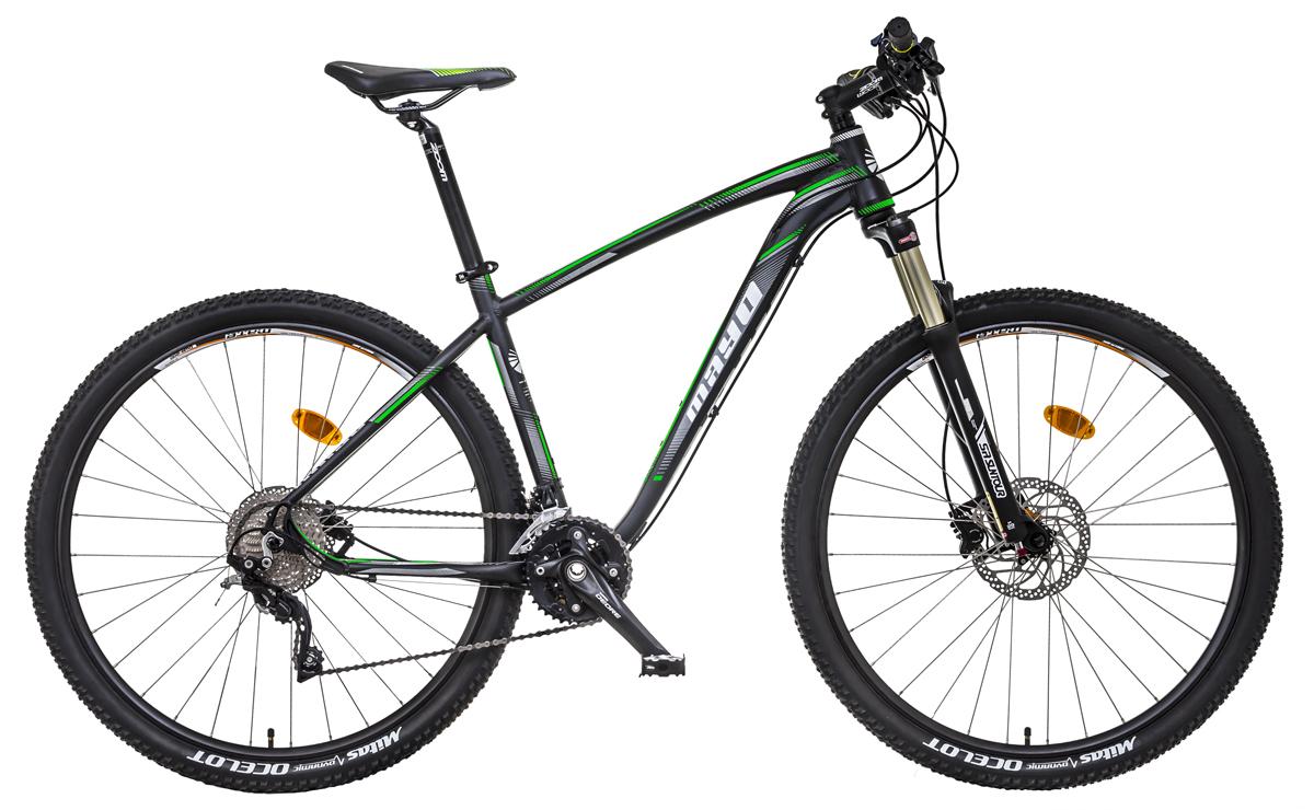 MAYO XC 29 eR MAX DISC 2018 černo -zelený Prevedenie: Velikost: 18 pánský