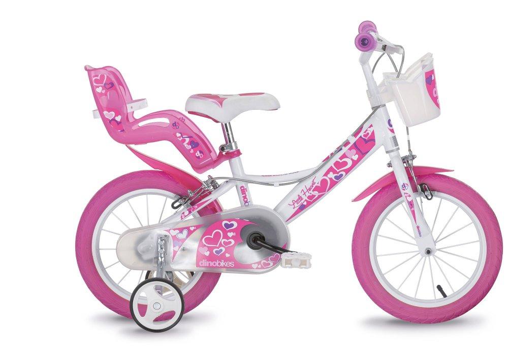 dětské jízdní kolo DINO HEART 16