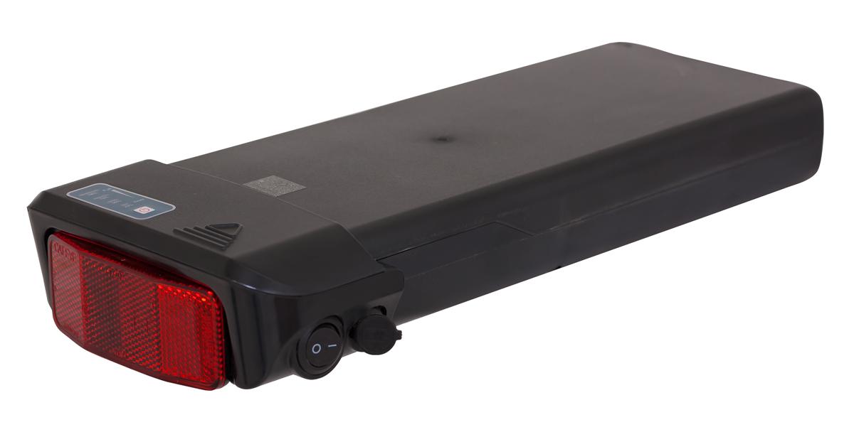 e-KIT 36V/10Ah (elektrifikační sada s předním kolem baterie: Li-ion 36V/13,6Ah Compact