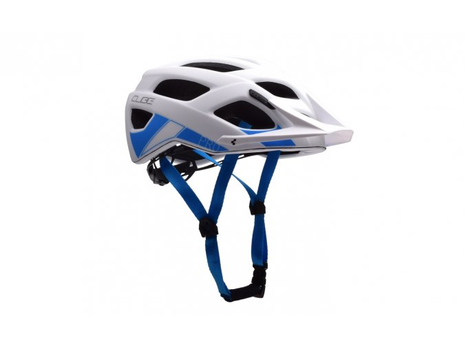 CUBE Helm PRO - white´n´blue