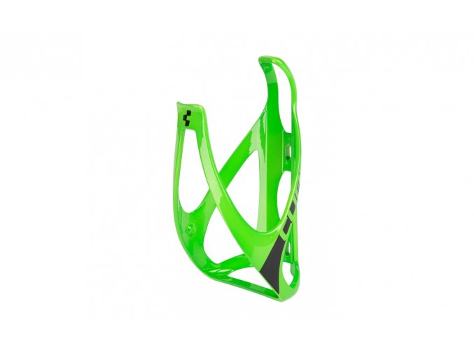 CUBE Bottle Cage HPP - glossy green´n´black