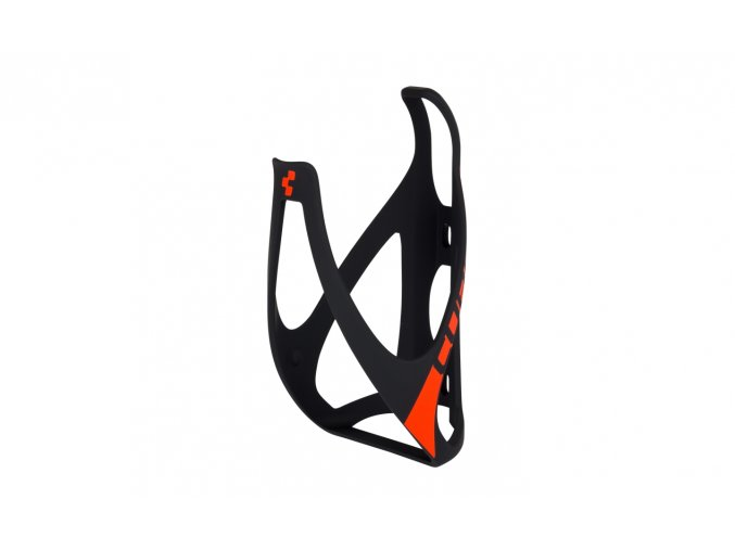 CUBE Bottle Cage HPP - matt black´n´flashred