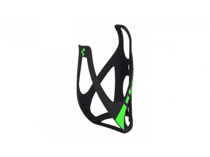 CUBE Bottle Cage HPP - matt black´n´green