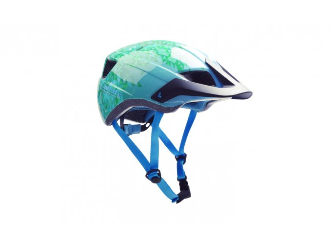 CUBE Helmet CMPT YOUTH - green triangle