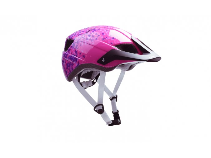 CUBE Helmet CMPT YOUTH - pink triangle