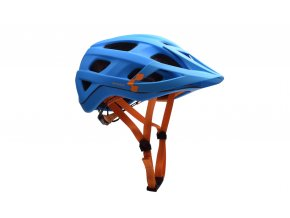 CUBE Helm AM RACE - blue´n´orange