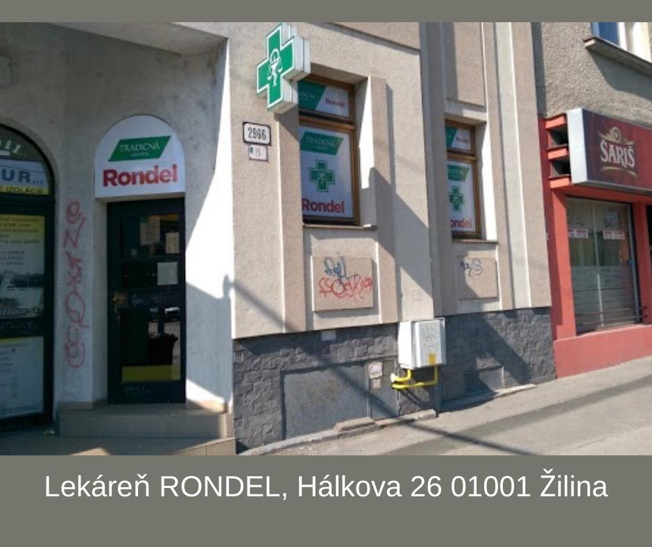 Lekáreň RONDEL, Hálkova 26 01001 Žilina
